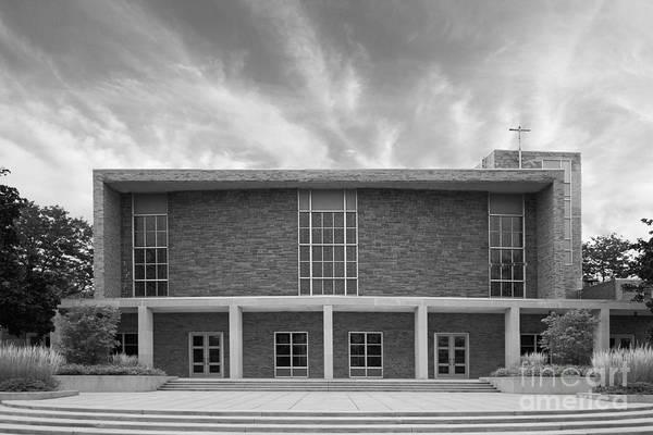 Photograph - Concordia University Christ Triumphant Chapel by University Icons