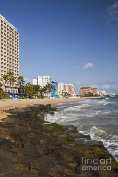 Photograph - Condado Beach In San Juan Puerto Rico by Bryan Mullennix