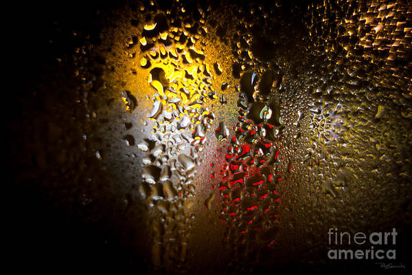Worldcup Photograph - Condensation 74 - Fifa World Cup Trophy Abstract by Pete Edmunds