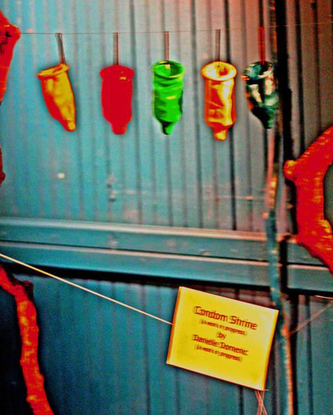 Digital Art - Condom Shrine by Joseph Coulombe