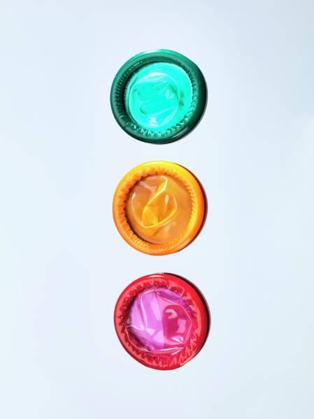Prophylactic Photograph - Condoms by Tek Image