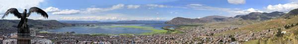Puno Photograph - Condor Hill, Puno, Peru by Panoramic Images