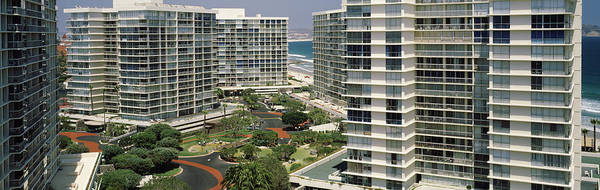 Wall Art - Photograph - Condos In A City, San Diego by Panoramic Images