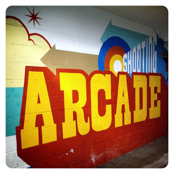 Photograph - Coney Island Arcade by Natasha Marco