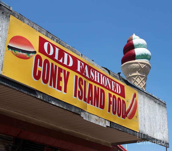 Photograph - Coney Island Ice Cream by Gregory Dyer