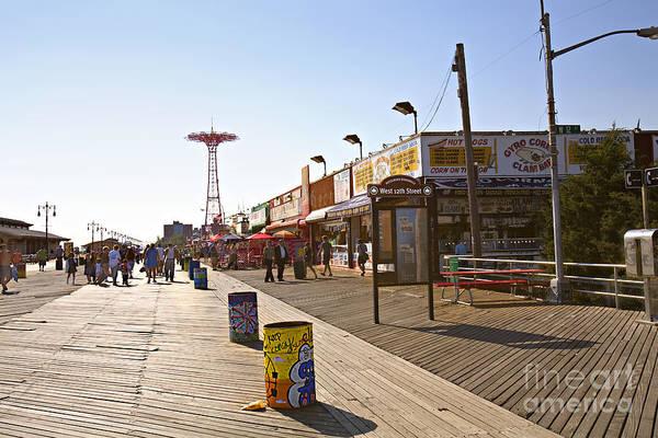 Coney Island Memories 8 Art Print