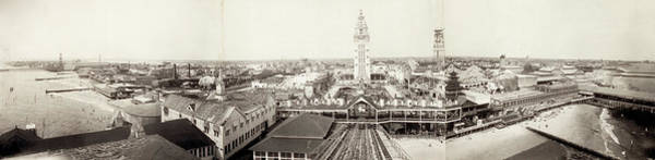 Photograph - Coney Island Panorama, 1910 by Granger