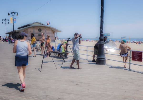 Photograph - Coney Island Photo Shoot by Frank Winters