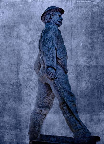 Photograph - Confederate Soldier Statue Iv Alabama State Capitol by Lesa Fine