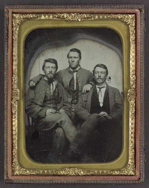 Wall Art - Photograph - Confederate Soldiers, C1863 by Granger
