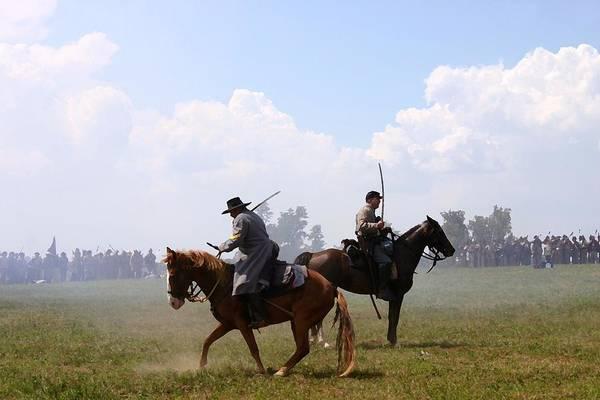 Artillery Brigade Photograph - Confederate Victory - Richmond Ky by Thia Stover