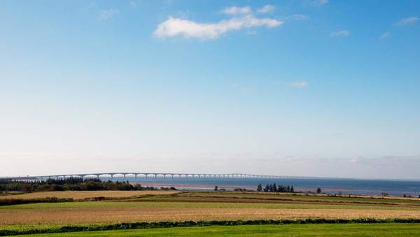 Photograph - Confederation Bridge by Trever Miller
