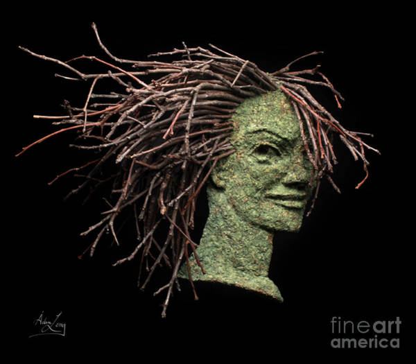 Twig Mixed Media - Confidence by Adam Long