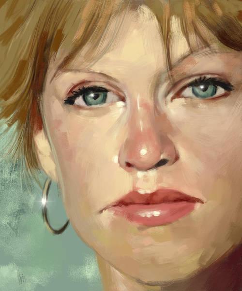 Confident Painting - Confidence by Arie Van der Wijst