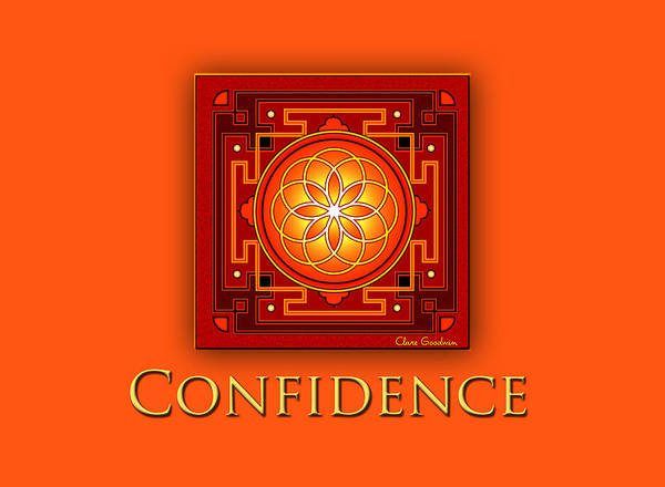 Wall Art - Digital Art - Confidence by Clare Goodwin