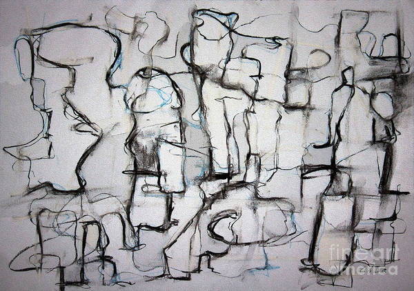 Drawing - Configurations by Nicole Philippi