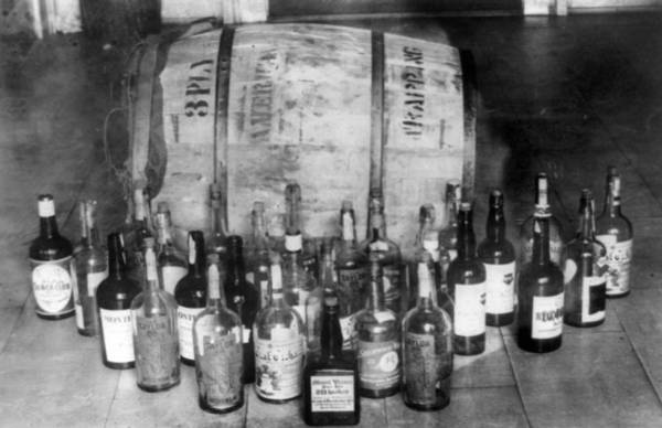 Wall Art - Photograph - Confiscated Whiskey, 1920s by Granger