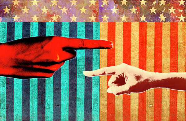 Wall Art - Photograph - Conflict In United States Politics by Ikon Images