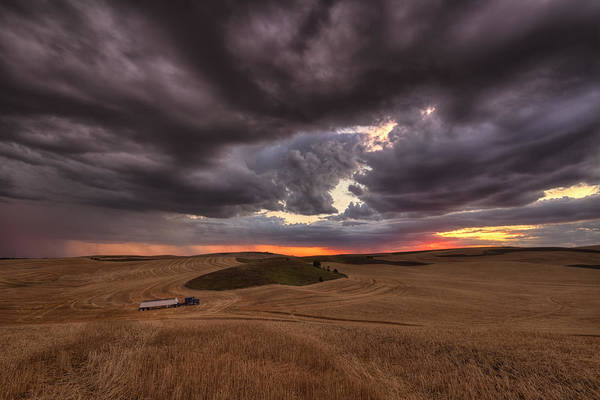 Land Mark Photograph - Confliction by Mark Kiver