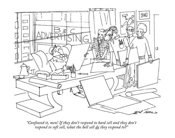 Employer Drawing - Confound by Ed Arno