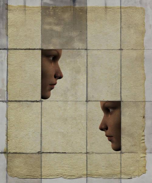 Wall Art - Digital Art - Confrontation by David Ridley