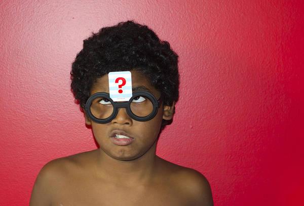Photograph - Confused Boy by Lynn Hansen