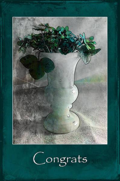 Photograph - Congrats In Turquoise by Randi Grace Nilsberg