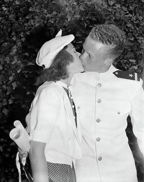 Photograph - Congratulations Kiss, 1939 by Granger