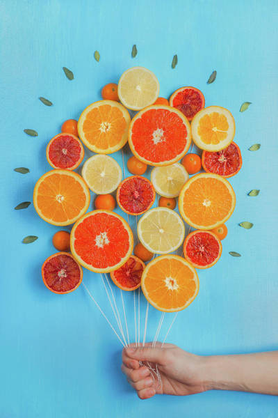 Citrus Fruit Photograph - Congratulations On Summer! by Dina Belenko