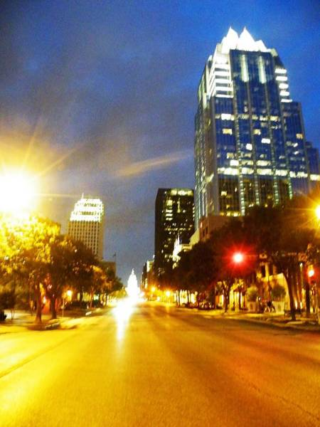 Photograph - Congress Boulevard Austin by The GYPSY