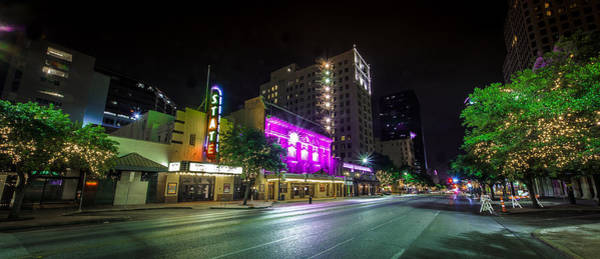 Photograph - Congress Street In Downtown Austin by David Morefield