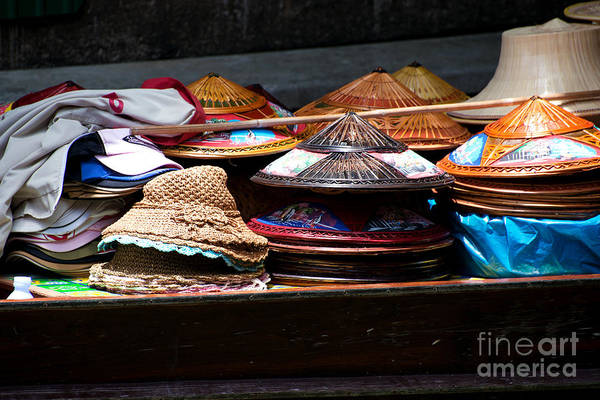 Photograph - Conical Hats 01 by Yew Kwang