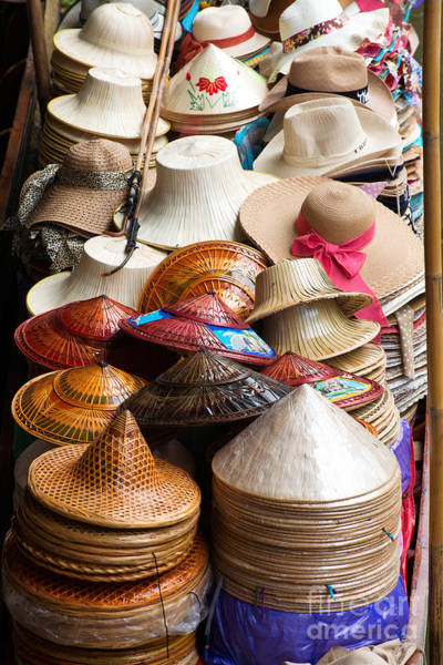 Photograph - Conical Hats 03 by Yew Kwang