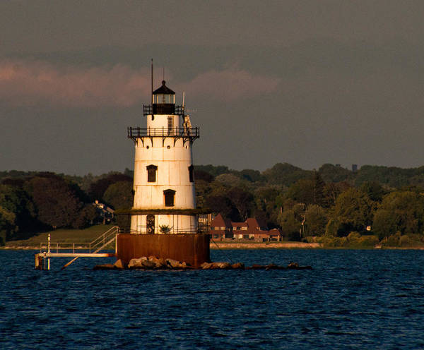 Photograph - Conimicut Light by Nancy De Flon