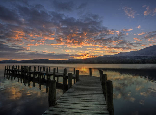 Wall Art - Photograph - Coniston Water by Graham Moore