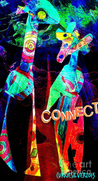 Digital Art - Connect by Currie Silver