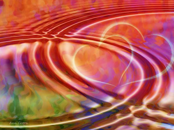 Wall Art - Digital Art - Connexion by Ann Croon
