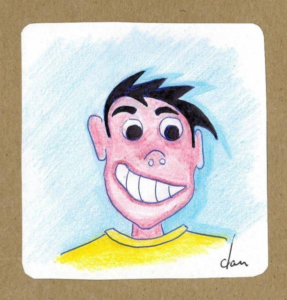 Dan Connor Wall Art - Drawing - Connor by Dan Sweeney