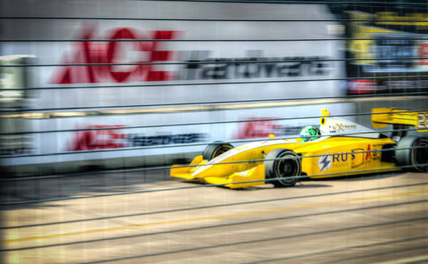 Racing Shell Photograph - Conor Daly by David Morefield