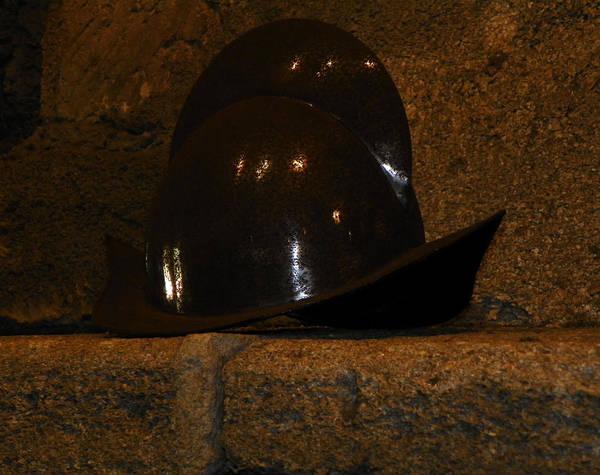 Pedro Menendez Photograph - Conquistador Helmet by Patty Weeks