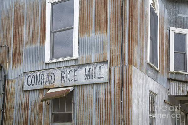 Photograph - Conrad Rice Mill by Jim West