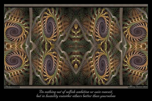 Digital Art - Consider Others by Missy Gainer