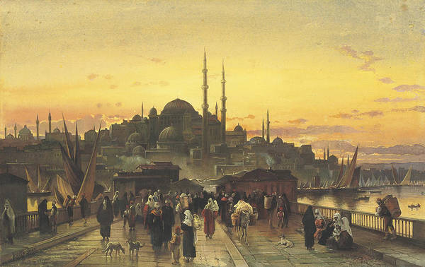 Painting - Constantinople by Celestial Images