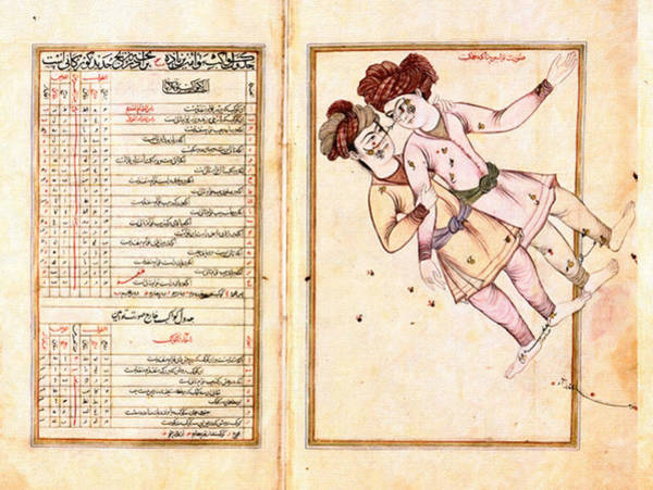 Drawers Painting - Constellation Gemeaux - Al-sufi by Celestial Images