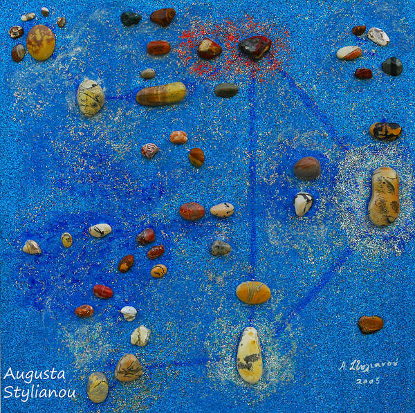 Painting - Constellation Of Libra by Augusta Stylianou