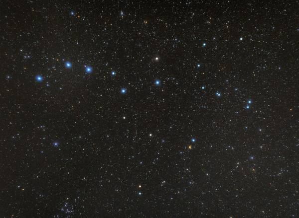Ursa Major Photograph - Constellation Of Ursa Major by Tony & Daphne Hallas/science Photo Library