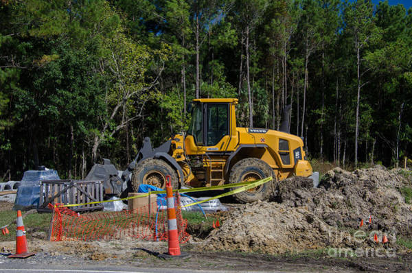 Photograph - Construction Earth Moving by Dale Powell