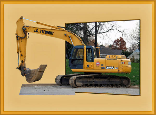 Wall Art - Photograph - Construction Equipment 01 by Thomas Woolworth