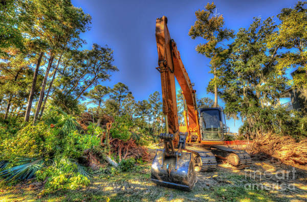 Photograph - Construction Site by Dale Powell