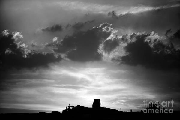 Photograph - Construction Sunset by Paul Cowan